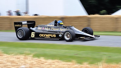 Lotus Cosworth 79 John Player Special 3 litre V8 Andrew Beaumont Goodwood Festival of Speed 2014