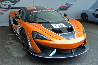 McLaren 570S at Goodwood Festival of Speed 2017