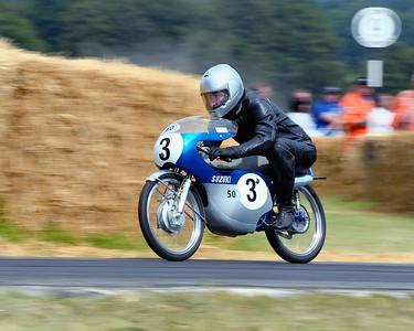 Suzuki RM50 1964 49cc single two stroke Paul Rutten Goodwood Festival of Speed 2014