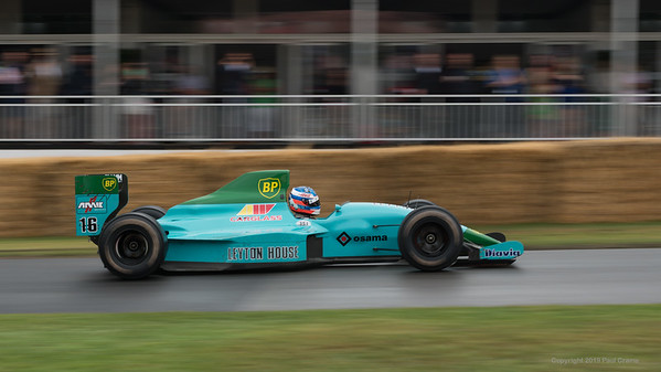 1989 Leyton House March JuddCG891  - Goodwood Festival of Speed -  July 2019