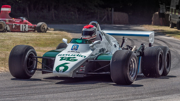 1982 Williams FW07D 6 wheeler - Goodwood Festival of Speed 2018 v