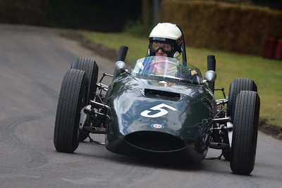 1962 BRM P57 David Clark at the Goodwood Festival of Speed 2016