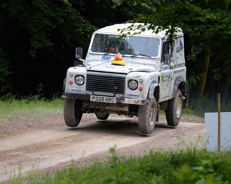 Landrover Wolf XD - Armed Forces Rally Team - Alan Paramore - Rally Stage at the Goodwood Festival of Speed 2016