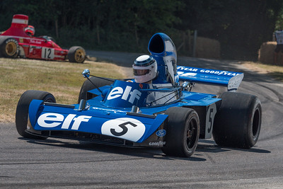 1971 Tyrrell Cosworth 003 - - Sir Jackie Stewart - Goodwood Festival of Speed 2018