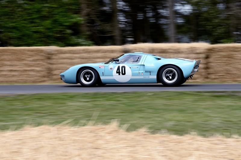1965 Ford GT40 - Sally Mason Styrron - Goodwood Festival of Speed 2015