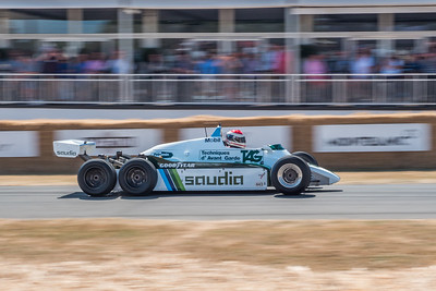 1982 Williams FW07D 6 wheeler - - Goodwood Festival of Speed 2018
