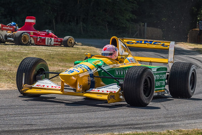 1992 Benetton Ford B192 Michael Schumacher - Lorinia McLaughlin -  Goodwood Festival of Speed 2018 v