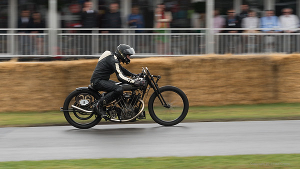 Brough Superior KTOR 998cc - Goodwood Festival of Speed -  July 2019