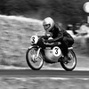 Suzuki RM50 1964 49cc single two stroke Paul Rutten Goodwood Festival of Speed 2014 bw