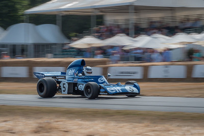 1973 Tyrrell Cosworth 006 - Sir Jackie Stewart - Goodwood Festival of Speed 2018-2