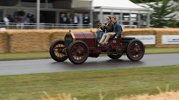 1930 Bugatti Type 53 - 9 2 litre 4 cylinder - Felicity Collings - Goodwood Festival of Speed -  July 2019