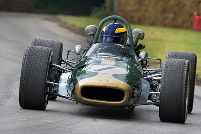 1968 Brabham Repco BT24  at the Goodwood Festival of Speed 2016