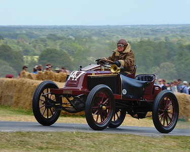 1906 type Renault Type K 12900cc 4 cylinder Eric Leroux Goodwood Festival of Speed 2014