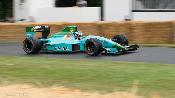 Leyton House March Judd CG891 1989 - Goodwood Festival of Speed -  July 2019