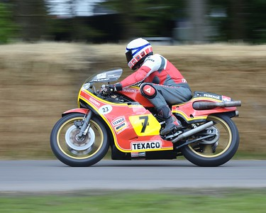 Barry Sheene's 1979 Suzuki XR27 RGA500 ridden by Phil Read - Goodwood Festival of Speed 2016