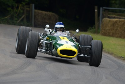 1966 Lotus BRM 43 at the Goodwood Festival of Speed 2016