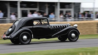 Renault Nervasport 1935 Hugues Portron Goodwood Festival of Speed 2014