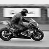 2004 Kawasaki ZXRR with Gunther Knuppertz  at the Goodwood Festival of Speed 2016 bw