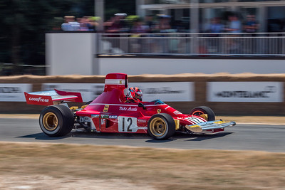 1974 Ferrari 312 B3 - Christian Knobloch - Goodwood Festival of Speed 2018