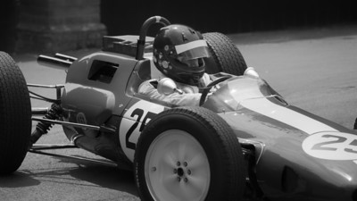 1962 Lotus Climax 25 -  Andy Middlehurst  bw - Goodwood Festival of Speed 2018