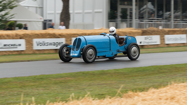 1930 Bugatti Type 53 - 5 litre straight eight - Friedhelm Loh - Goodwood Festival of Speed -  July 2019