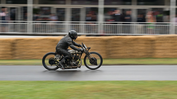 Norton number 10 - Goodwood Festival of Speed -  July 2019