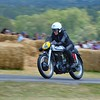 1953 Norton 350 Featherbed Rider Unlisted Goodwood Festival of Speed 2014