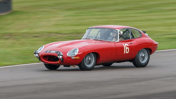 1961 Jaguar E Type FHC - Mark Midgley Calum Lockie - Goodwood Revival 2019
