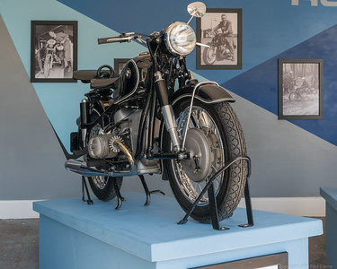 BMW R69S in black - Goodwood Revival 2019