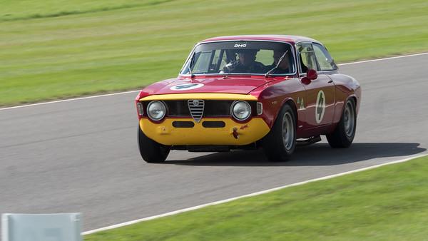 1965 Alfa Romeo 1600 GTA - Tom Coronel - The Goodwood Revival 2018