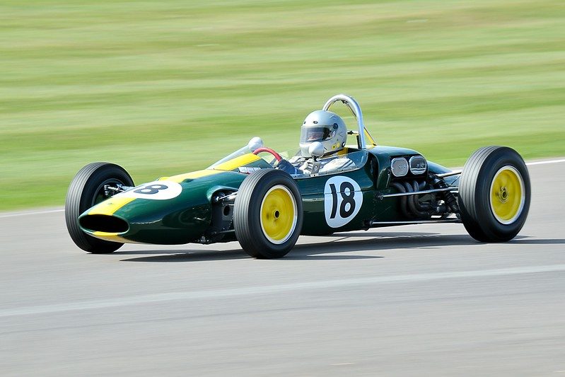 Lotus-Ford 27 Chris Locke 1963