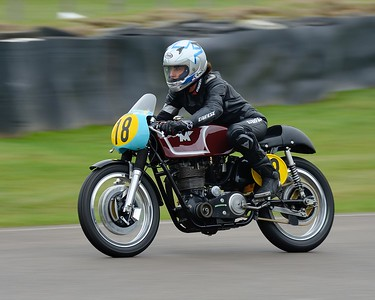 Sophie Smith 1962 Matchless G50