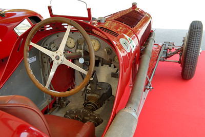 Alfa Romeo Tipo B built 1932 2.7 litre supercharged 8 cylinder Driver: Alessandro Rigoni