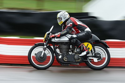 1953 Norton 30 M -  Ian Bain Steve Brogan - Barry Sheene Memorial Trophy at the 2016 Goodwood Revival