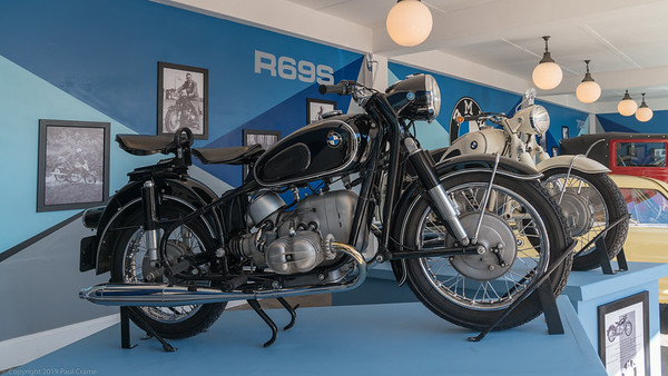 BMW R69S Display - Goodwood Revival 2019