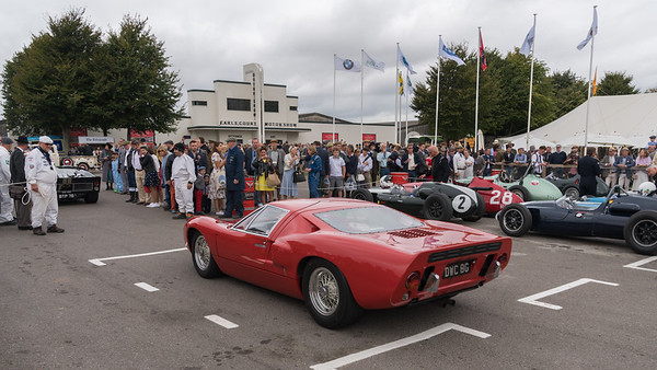 1969  Ford GT40  DWC 8G - The Goodwood Revival 2018