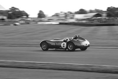 1958 Allard Farrallac 6391cc Tony Bianchi Nick Wigley BW