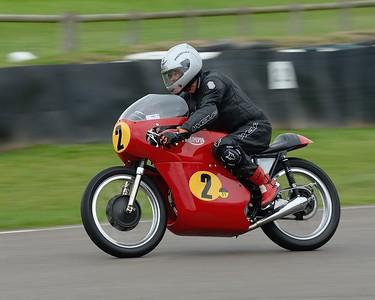Roger Ashby Andrew French 1966 Triumph Daytona 500