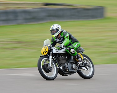 Steve Brogan 1962 Norton Manx 500