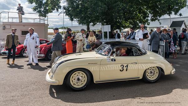 1957 Porsche 356 Speedster - Alexis de Reguero - The Goodwood Revival 2018