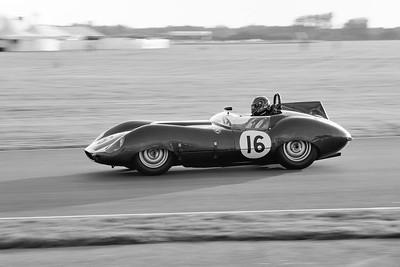 1959 Tojeiro Jaguar 3781cc James Jeremy Cottingham BW