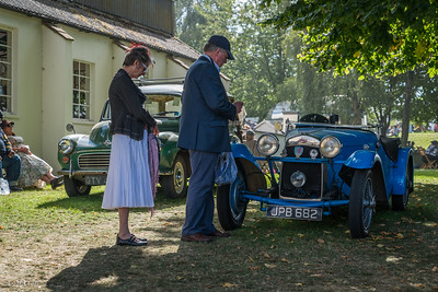 Viewing the HRG - The Goodwood Revival 2018