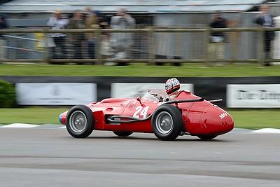 Max Werner 1957 Maserati 250F V12 2491cc
