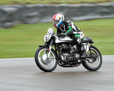 1954 Norton Dominator Clubmans Levi Day Richard Ellis - Barry Sheene Memorial Trophy at the 2016 Goodwood Revival