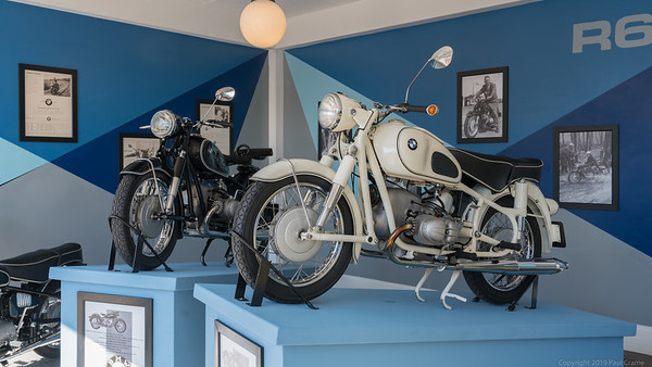 BMW R69 Display - Goodwood Revival 2019