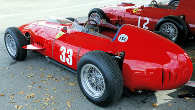 Ferrari Dino in the  Goodwood Paddock