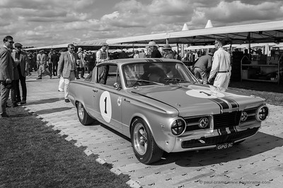 1965 Plymouth Barracuda - The Goodwood Revival 2018