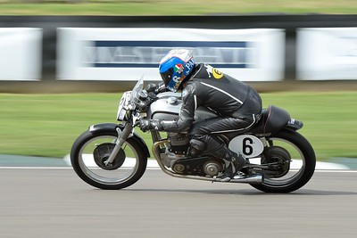 1954 Norton Dominator 99 - Steve Parrish - Barry Sheene Memorial Trophy at the 2016 Goodwood Revival