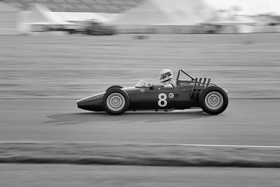 1961 BRM P57 1495cc  David Clark BW