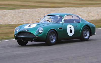 Adrian Beecroft - Tony Dron -Aston Martin DB4GT Zegato 1961 3670cc